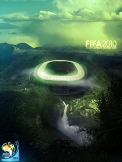 Картинка в память о чемпионате мира по футболу в Южной Африке